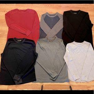 Men's size L thermal shirt bundle